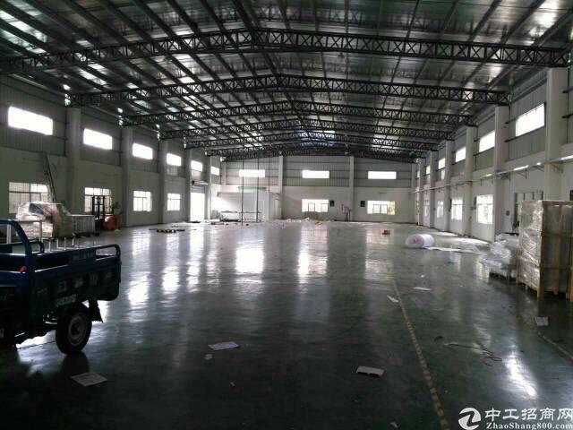 黄江镇2400平米独院钢构,现成办公室独立变压器