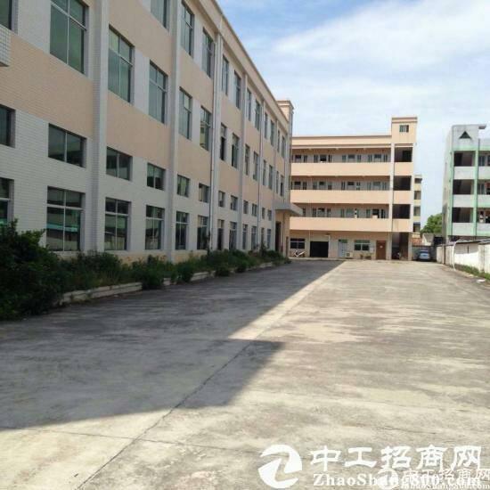 东莞市石排镇独院厂房1-3层,4600平方,宿舍2000平方