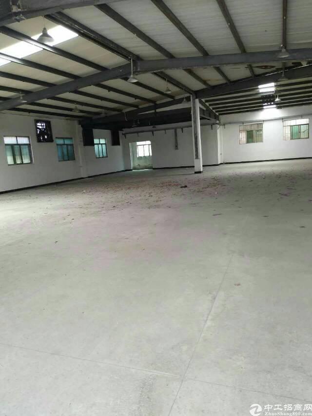 虎门北栅高速公路出口附近新空出600平铁皮厂房可做铺面 仓库