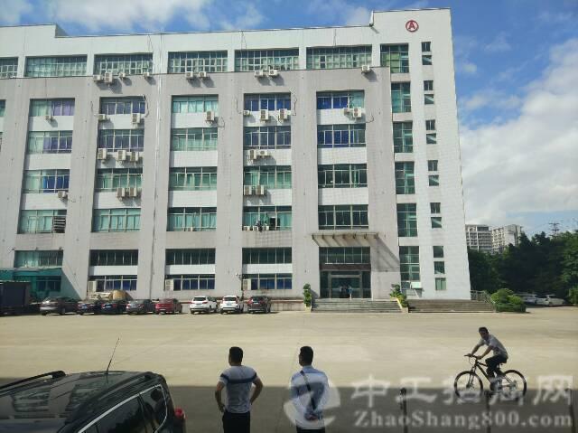 松岗燕川新出楼上厂房2800平方米有红本带装修低价招租