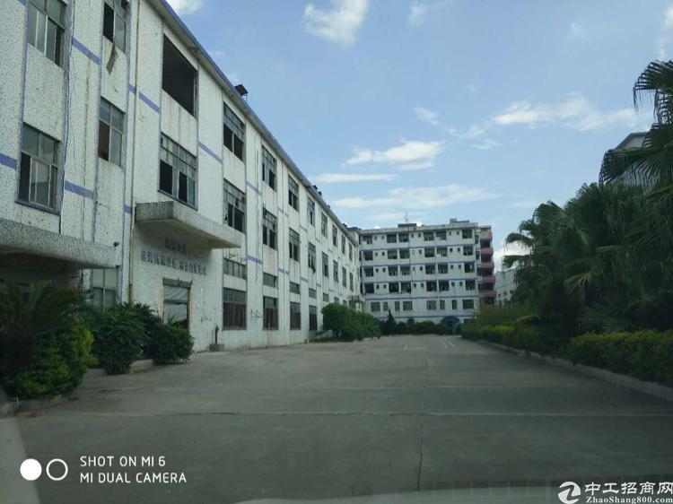 龙华福龙路出口边上新出独栋厂房1-3层13000平,合同5年