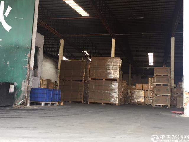 西丽南光高速路口新出20000平钢构物流仓库
