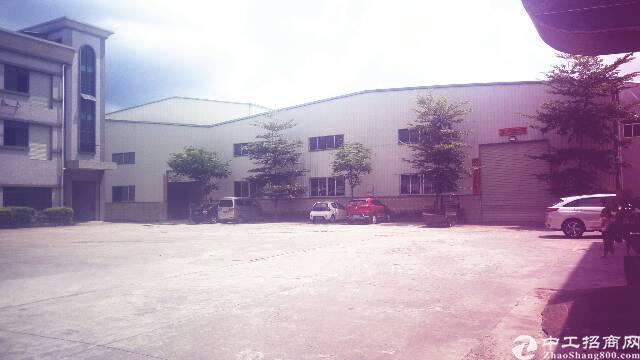 塘厦龙背岭八米高钢构厂房2400平米,便宜出租