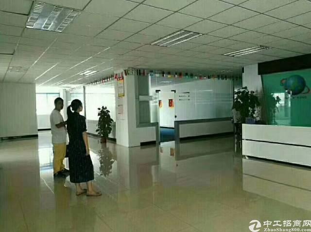 沙井南环路边新出楼上带豪华装修3200平厂房