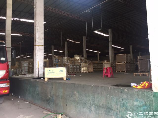 西丽南光高速路口新出20000平钢构物流仓库-图3