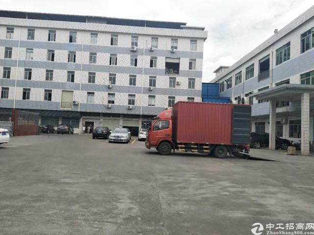 虎门南栅五区靠近长安新出标准厂房分租一楼350平方有隔好办公