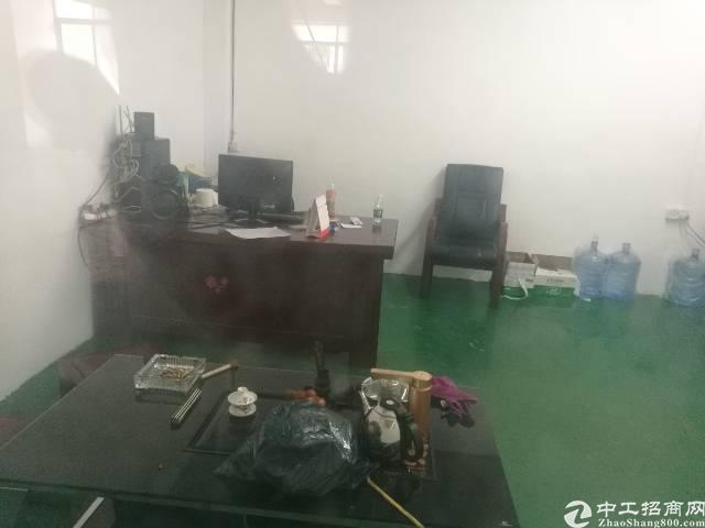 石碣刘屋新出工业园标准厂房二楼550㎡,带地坪漆,现成办公室