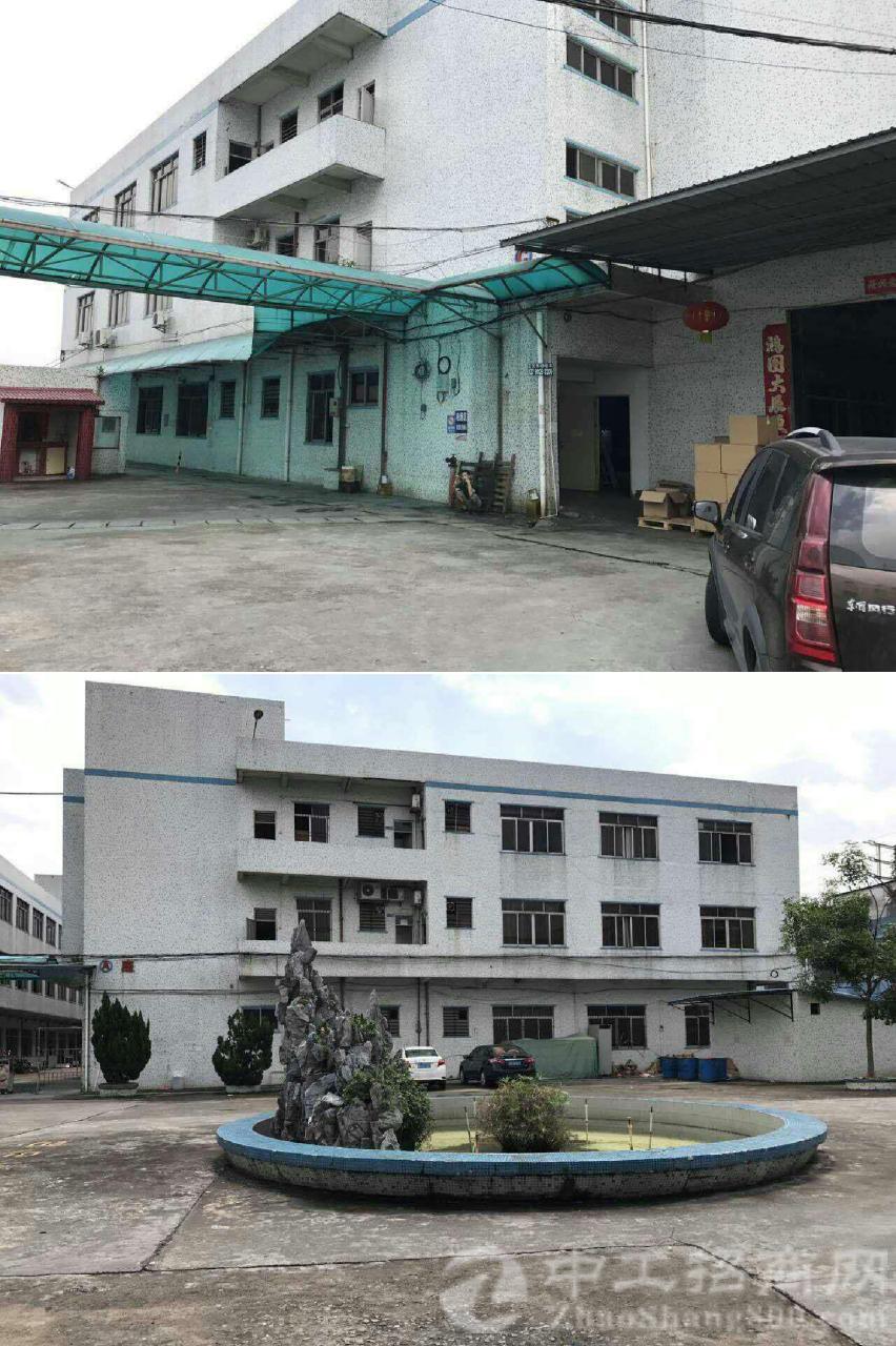 虎门占地 24029 ㎡建筑 38638  ㎡ 双证齐全厂房