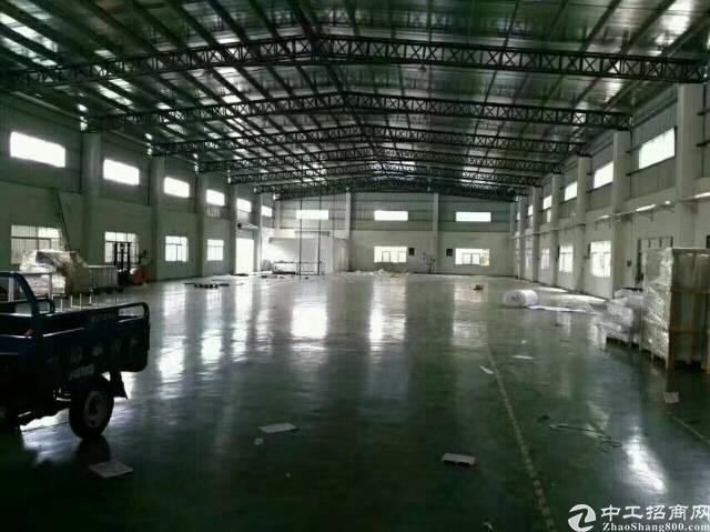 黄江镇莞深高速路旁2950平方可做喷涂厂房