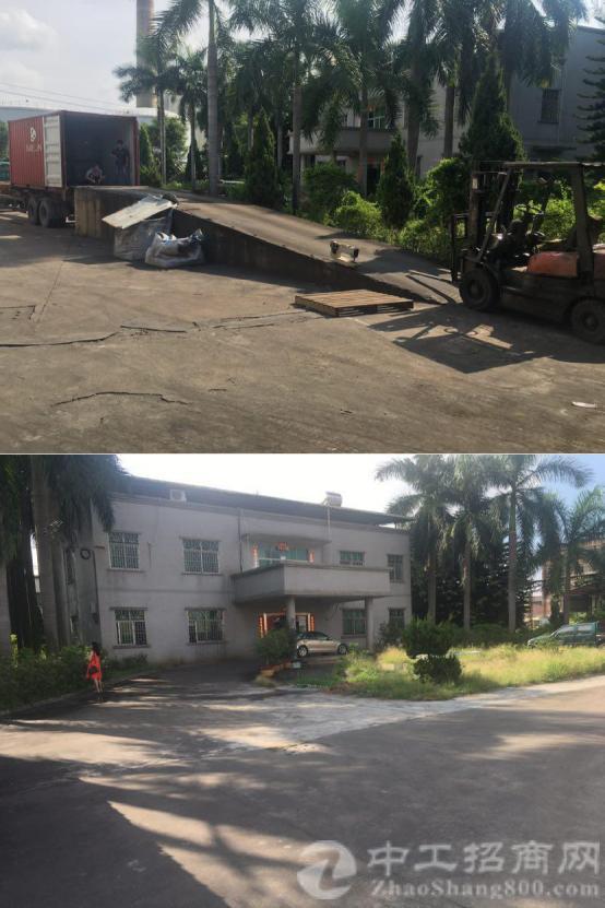 洪梅占地 10750.5 ㎡建筑 6500 ㎡国土证厂房出售