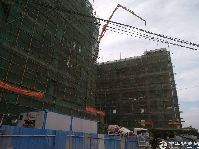 茶山东部快速边上原房东在建标准厂房7600平方宿舍2400