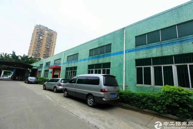 西乡九围附近大型工业园独栋钢钩带豪华装修2100平米招租