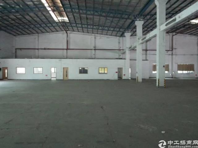 西乡九围洲石路附近一楼钢钩厂房4800平米可分租