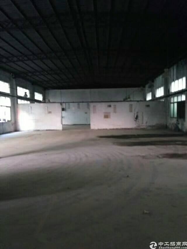 福永新出1楼钢构1800㎡,现成办公室,园区空地大,独院