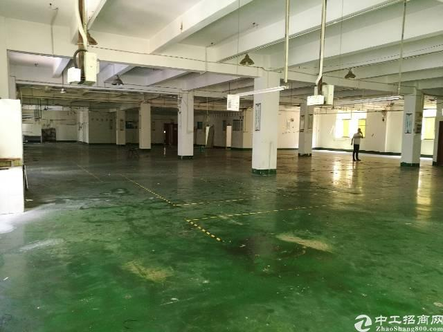 西乡固戍南昌公园附近楼上2000平大小可分租厂房