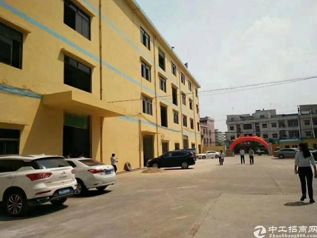 常平标准厂房四层14000平方,宿舍3500平方,