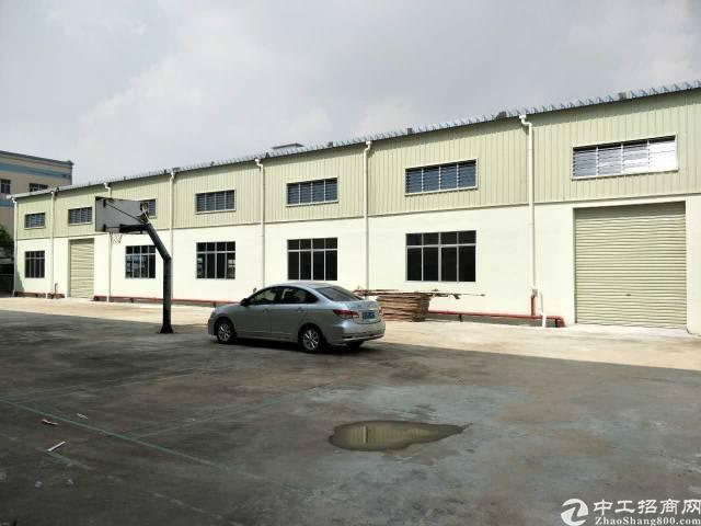 黄江镇全新出独门独院钢钩厂房出租带有豪华装修