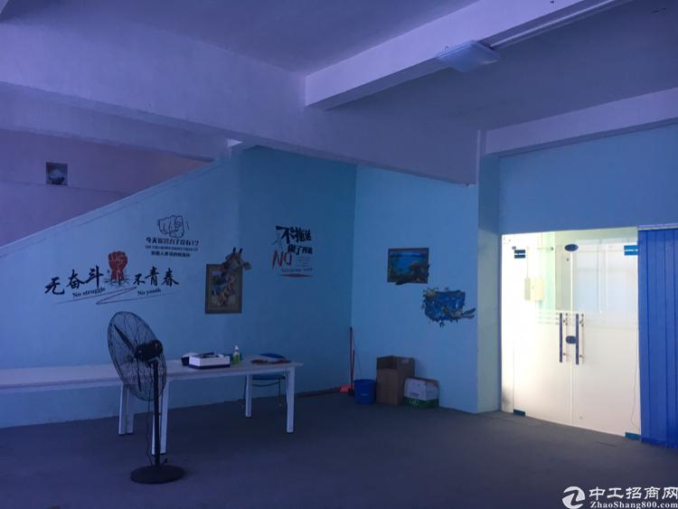 横岗保安社区永湖地铁口精装修写字楼800平方大小已格好