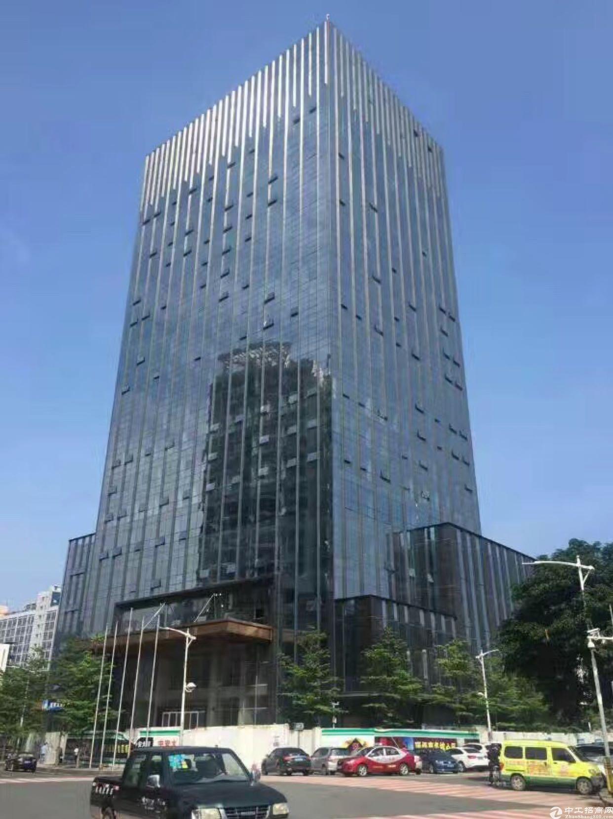 布吉木棉湾地铁口100米甲级写字楼精装修低价出租