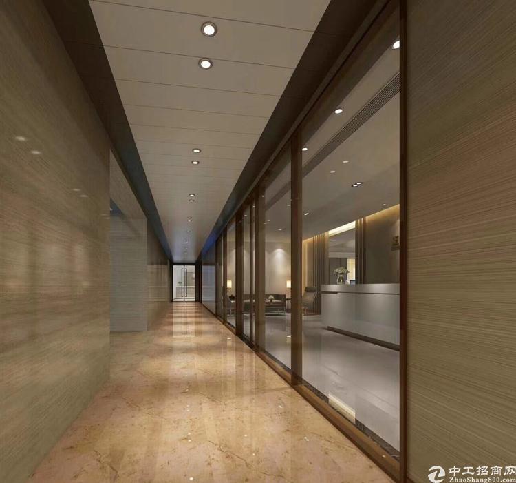 南联地铁口420平精装修办公室,带红本一手业主