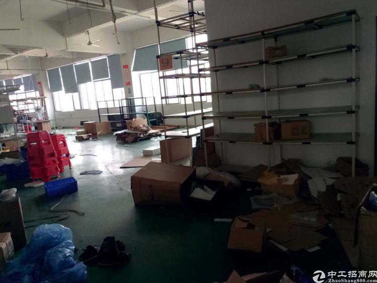 公明南光高速出口4楼1980平方带豪华精装修厂房出租