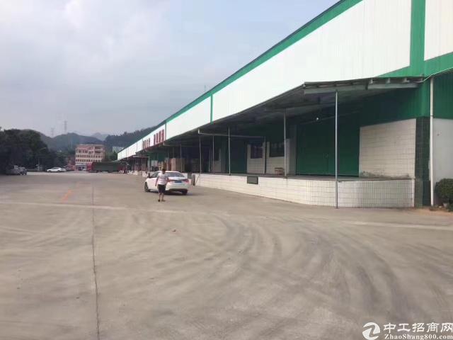 清溪高速出口物流仓库22000平方低价急租