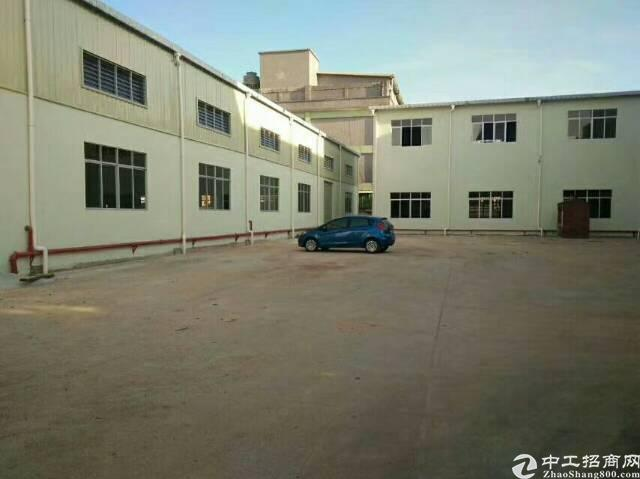 黄江独院单一层钢构厂房招租原房东3000平方招租