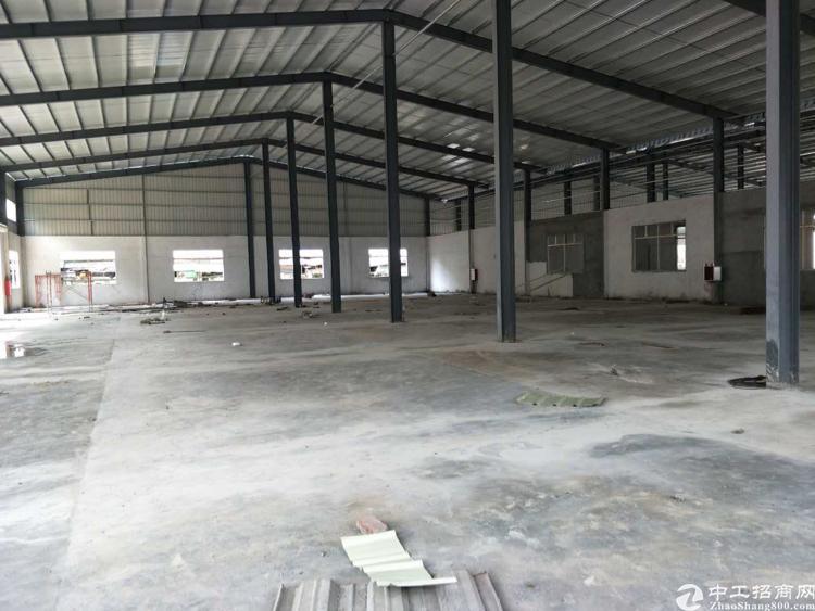 黄江镇中心原房东滴水8米高厂房出租
