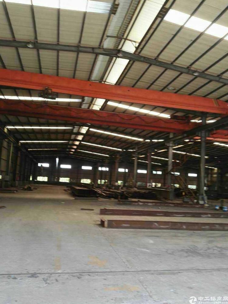 大朗镇大型钢构厂房分租一栋2000平,宿舍500平