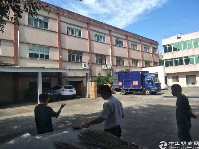 黄江镇靠深圳公明独门独院标准厂房
