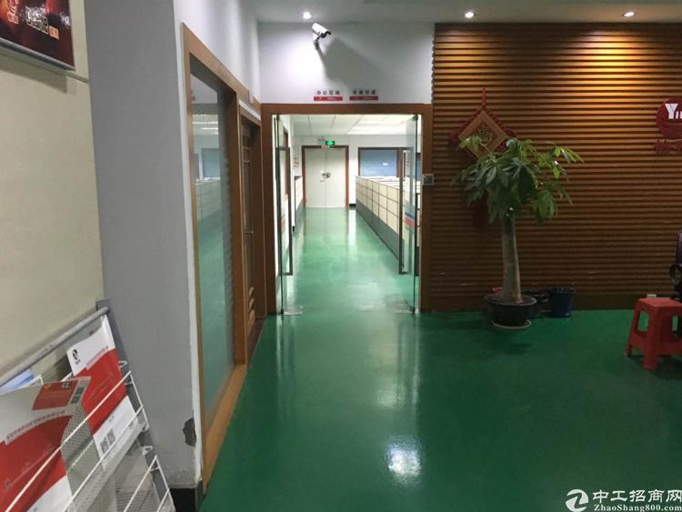 横岗永湖地铁站三楼精装修厂房出租-图4