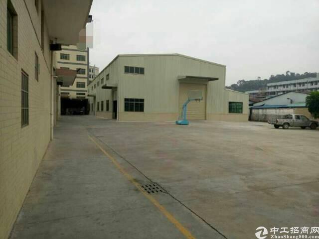 黄江镇田心村独院钢构厂房3200平米出租