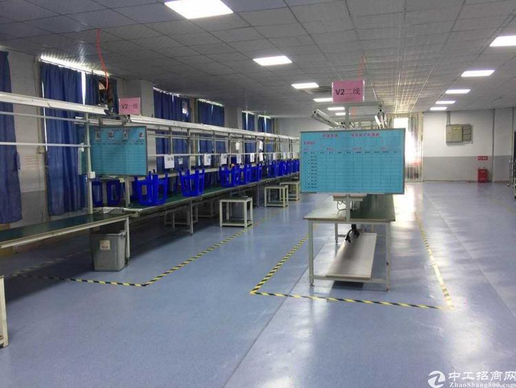 龙岗宝龙  新出独院  电子无尘车间免费送  办公室仓库俱全-图2