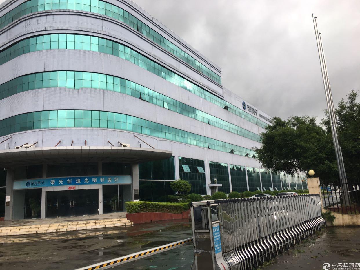 东莞清溪红本花园式独院厂房总面积6.8万平方可分租