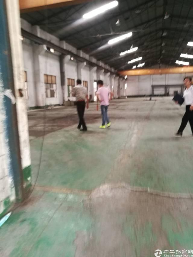 黄江带行车10米高钢构2850平方出租