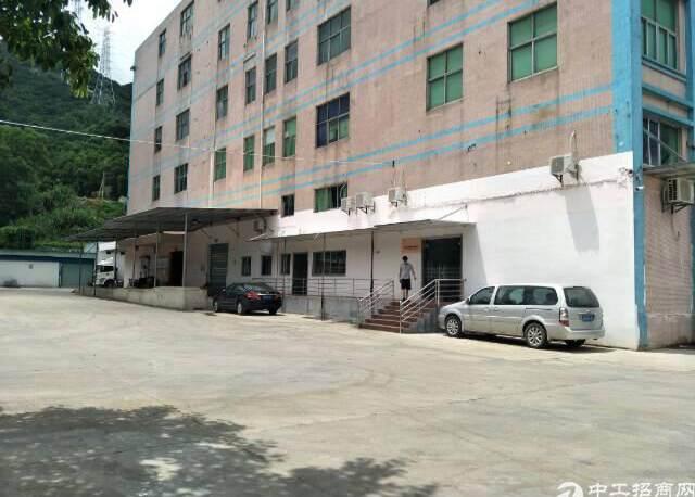 横岗地铁站工业园区仓库一楼2300平,层高8米,带卸货平台,