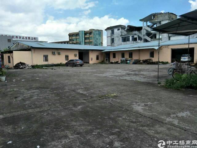 横沥镇新出空地2000平方米单一层独院钢构2800平方米出租