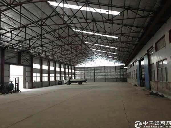 独栋单一层钢构厂房,有牛角位,滴水5米。