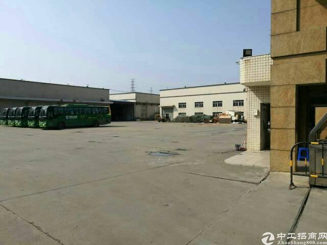 松岗高速出口新出物流仓库15000平米厂房低价出租-图2