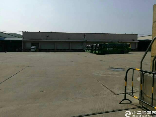 松岗高速出口新出物流仓库15000平米厂房低价出租-图3
