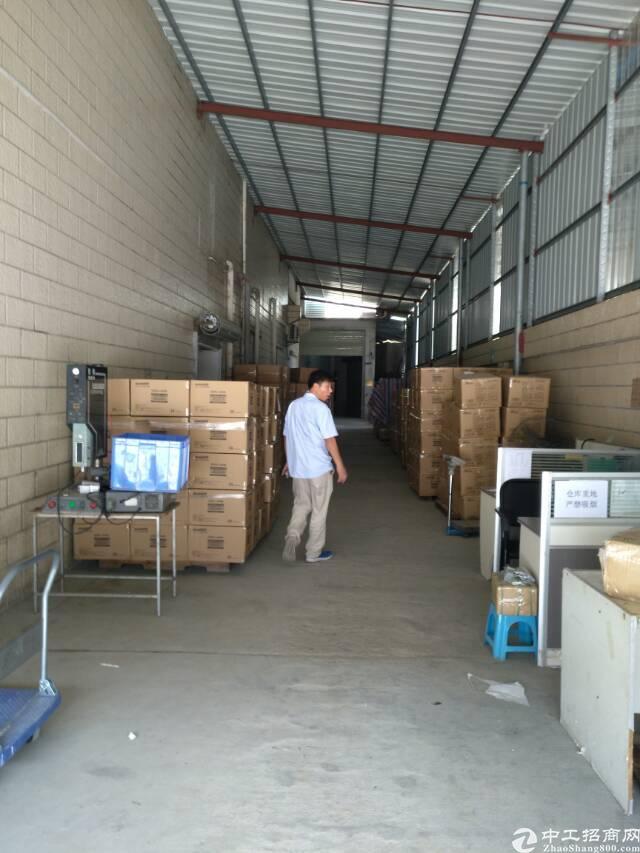 村头一楼700平仓库出租5千平空地雨棚可进货柜-图5