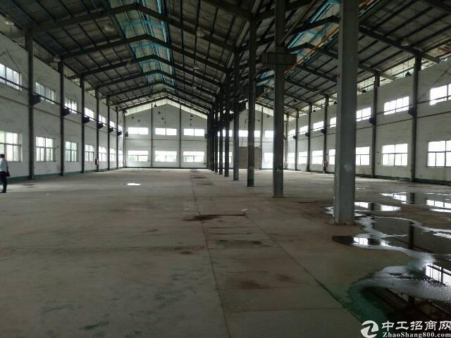 黄江高速出口单一层钢构厂房3700平米招租