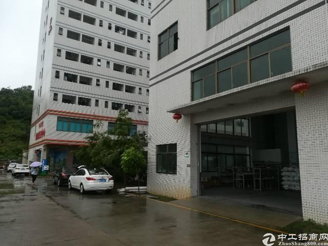 凤岗观兰平湖交界二楼厂房