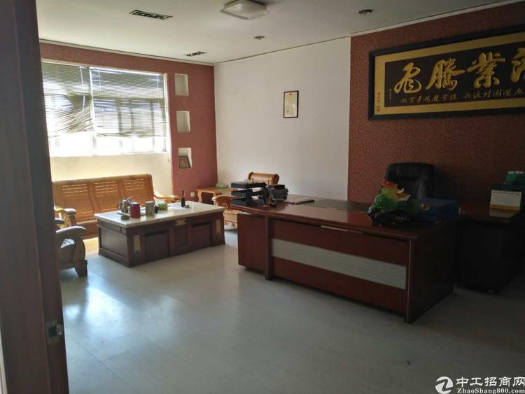 虎门小捷窖万科附近现成制衣厂二楼1000平方,有办公室装修-图4