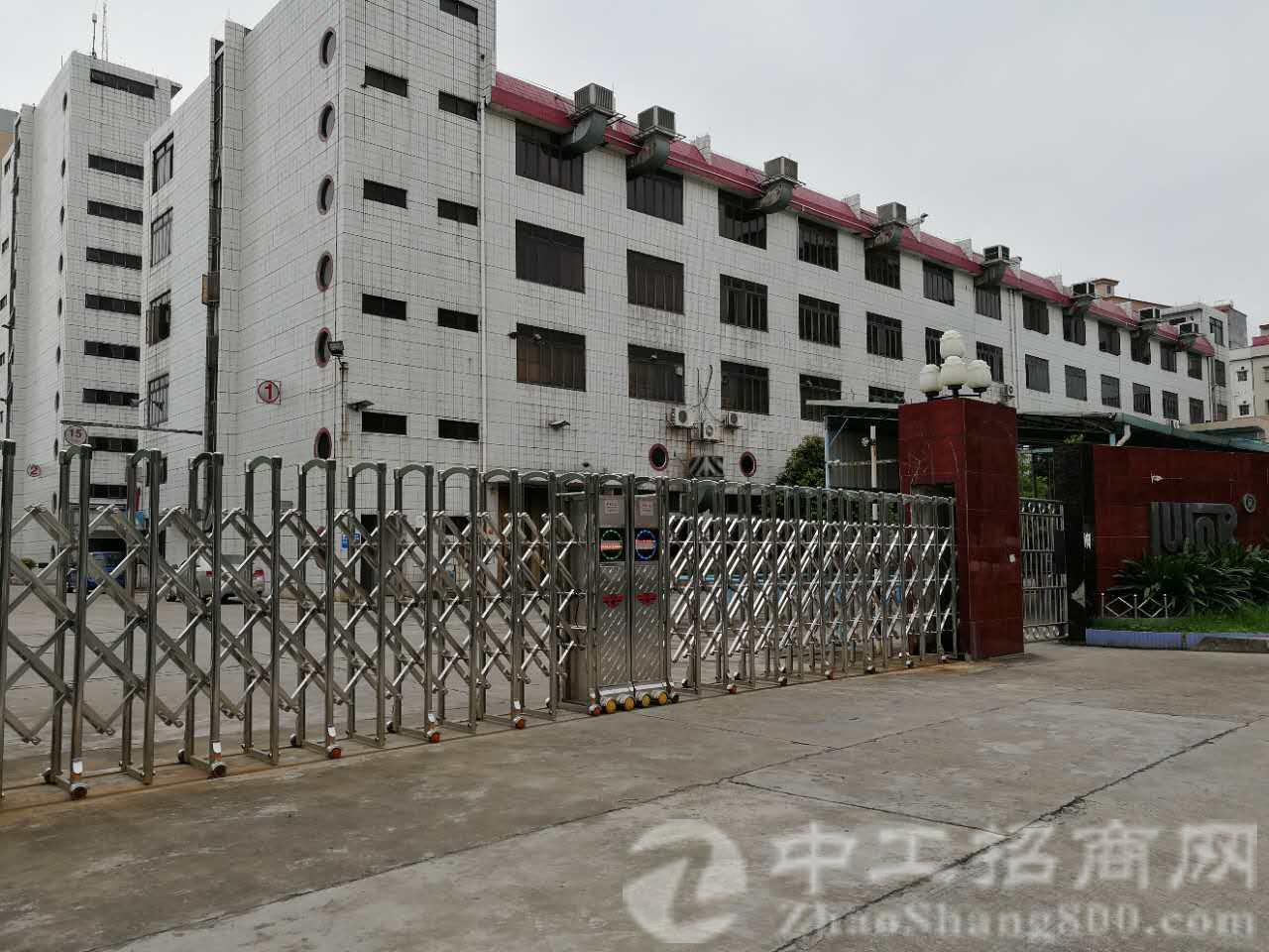独门独院厂房四层1500平方,一楼高度6.5米,宿舍1000