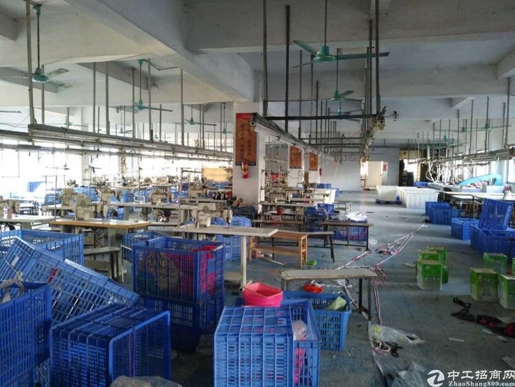 虎门小捷窖万科附近现成制衣厂二楼1000平方,有办公室装修-图3