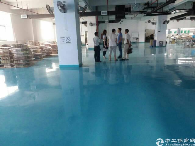 福永塘尾楼上1500平米带装修厂出租