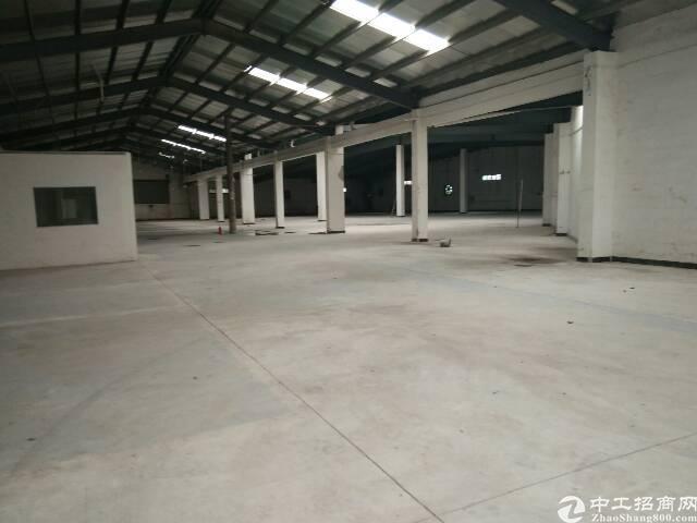 大朗莞樟路边单一层仓库3300平方招租