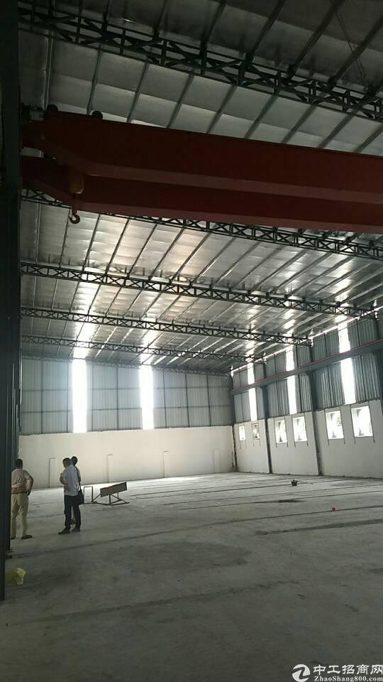 虎门北栅高速公路出口附近新空出600平铁皮厂房可做铺面 仓库-图2