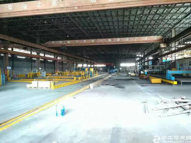 单一层钢结构8000平方米,厂房高度滴水位16米高。天车到地